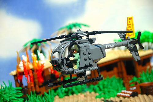 LoganLego氏のレゴ作品