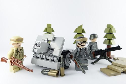 D E L T A氏のレゴ作品