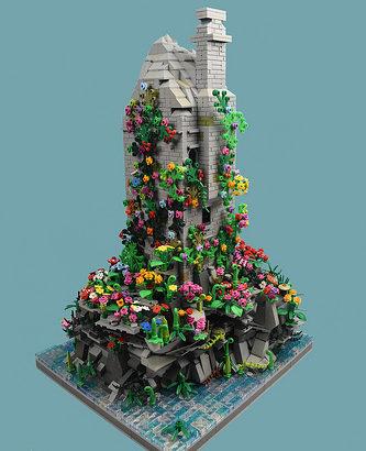 Nick Sweetman氏のレゴ作品