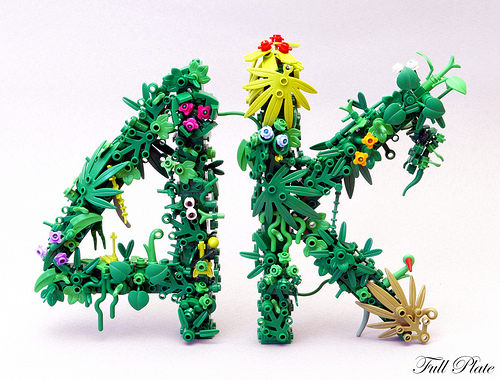 Full Plate氏のレゴ作品