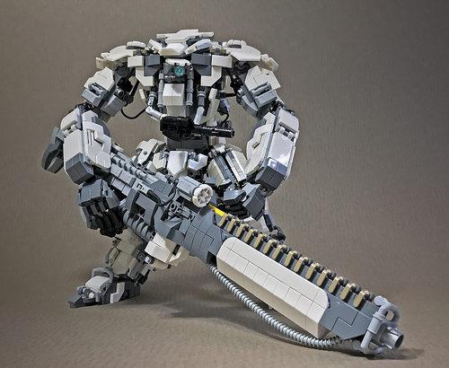 レゴ ロボ「TFM-Mk17 ガーディアン」