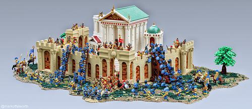 Mark of Falworth氏のレゴ作品