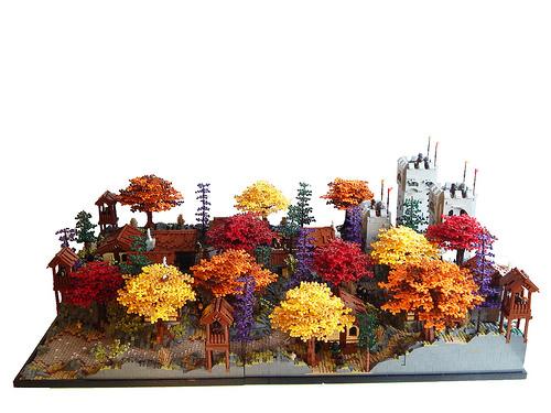 Tirrell Brown氏のレゴ作品
