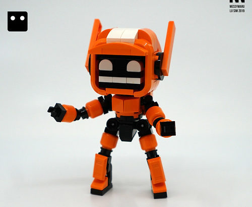 Lu Sim氏のレゴ作品