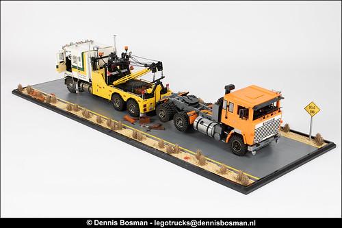 Dennis Bosman氏のレゴ作品