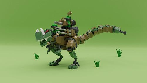Garry氏のレゴ作品