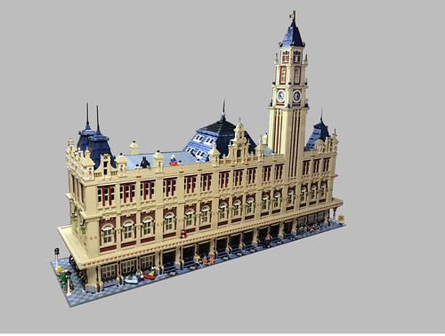 Jakob Escher氏のレゴ作品