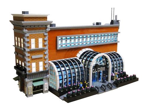 Joel Baker氏のレゴ作品