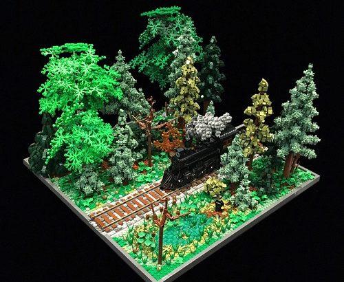 Allan Corbeil氏のレゴ作品