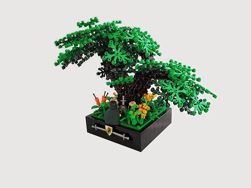 jesse van den Oetelaar氏のレゴ作品
