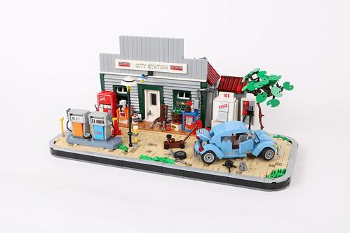César Soares氏のレゴ作品