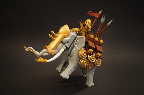 Dr. Zarkow氏のレゴ作品