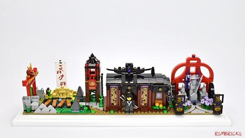 Rollon Smith氏のレゴ作品
