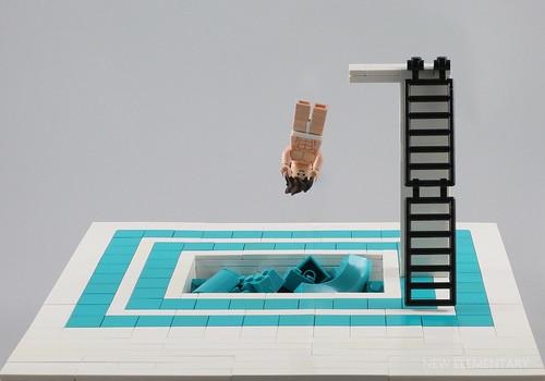 Elspeth De Montes氏のレゴ作品