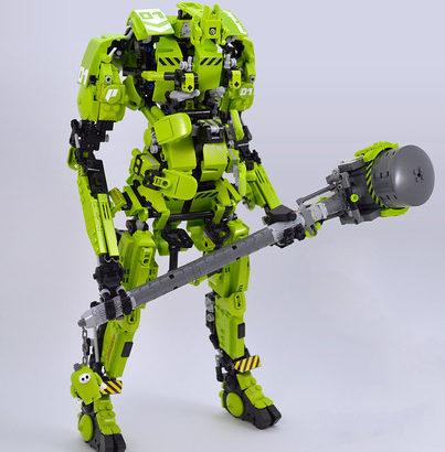 David Collins氏のレゴ作品