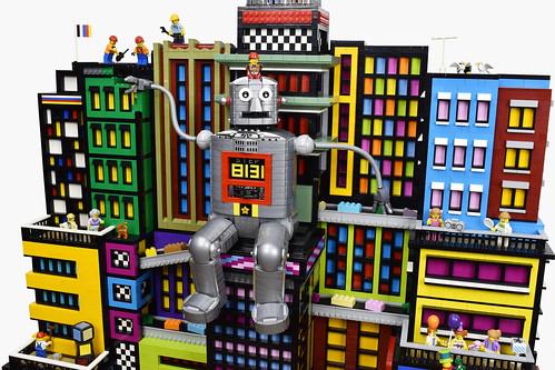 Paul氏のレゴ作品