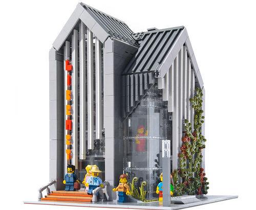 Łukasz Libuszewski氏のレゴ作品