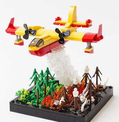 Koala Yummies氏のレゴ作品