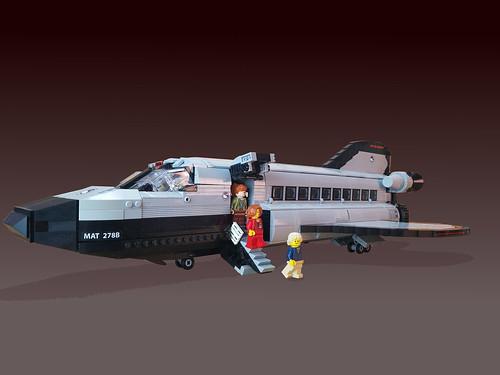 Scott Wilhelm氏のレゴ作品