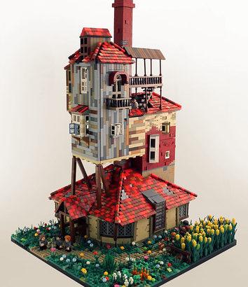 Martin Latta氏のレゴ作品