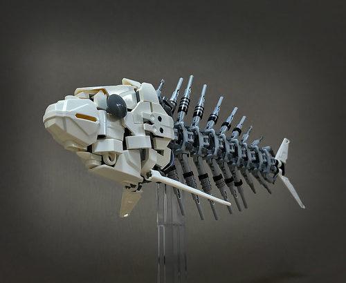 レゴ メカ「魚の骨」