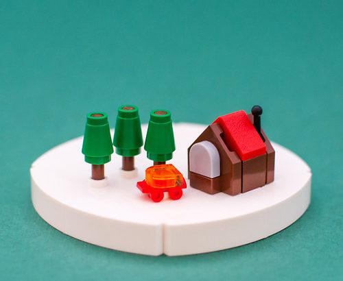 Milan Sekiz氏のレゴ作品