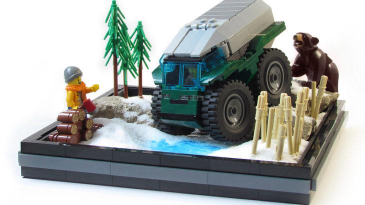 Pixel Fox氏のレゴ作品