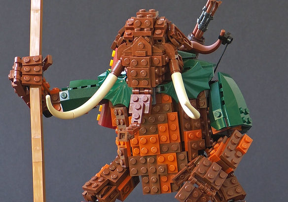 Eero Okkonen氏のレゴ作品
