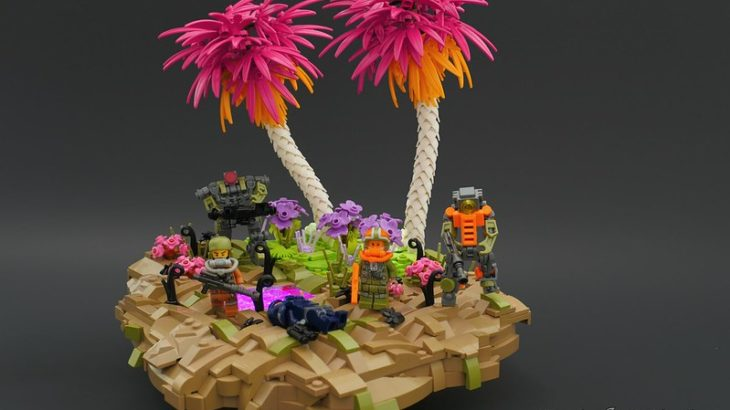 Brick Ninja氏のレゴ作品