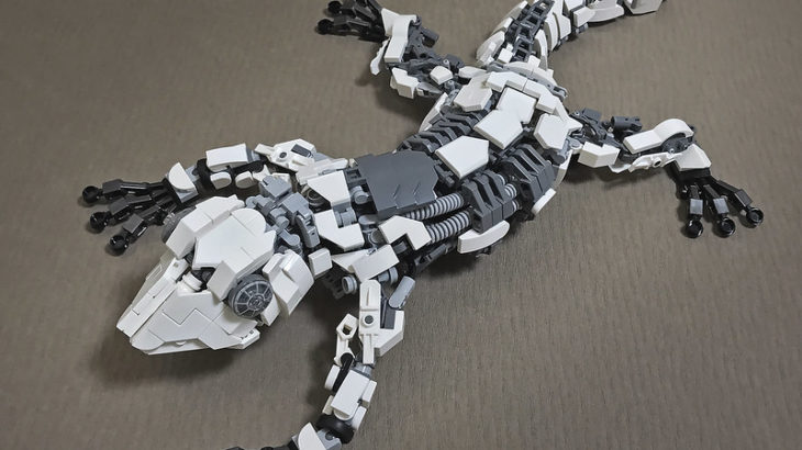 レゴ メカ「ヤモリ」