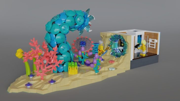 Victor氏のレゴ作品