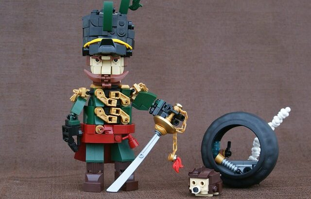 General Tilney氏のレゴ作品