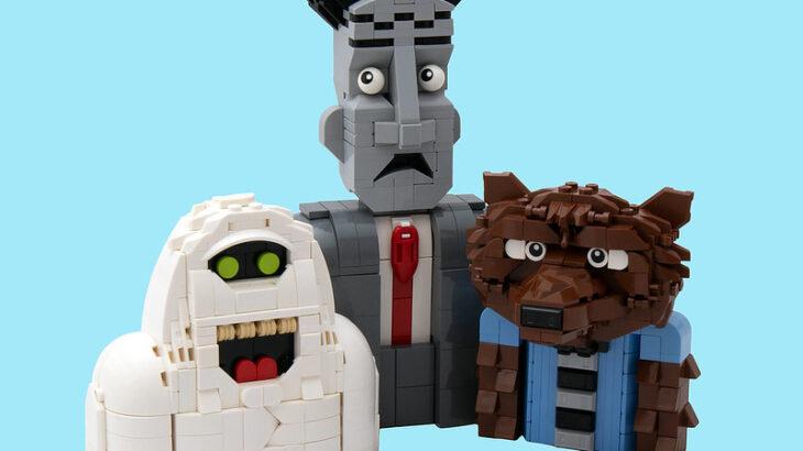 Letranger Absurde氏のレゴ作品