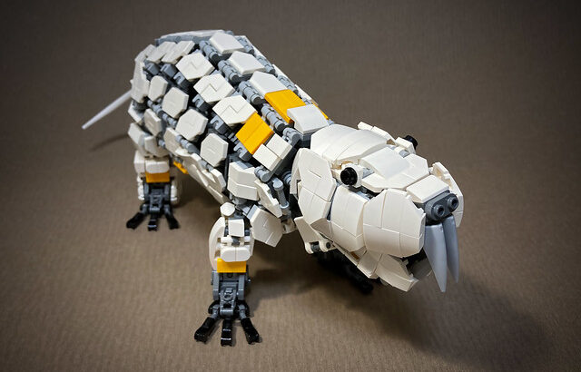 レゴ メカ「ハダカデバネズミ」