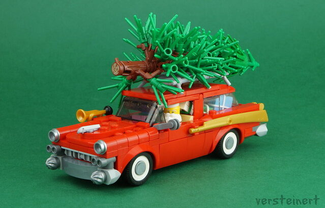 Versteinert氏のレゴ作品